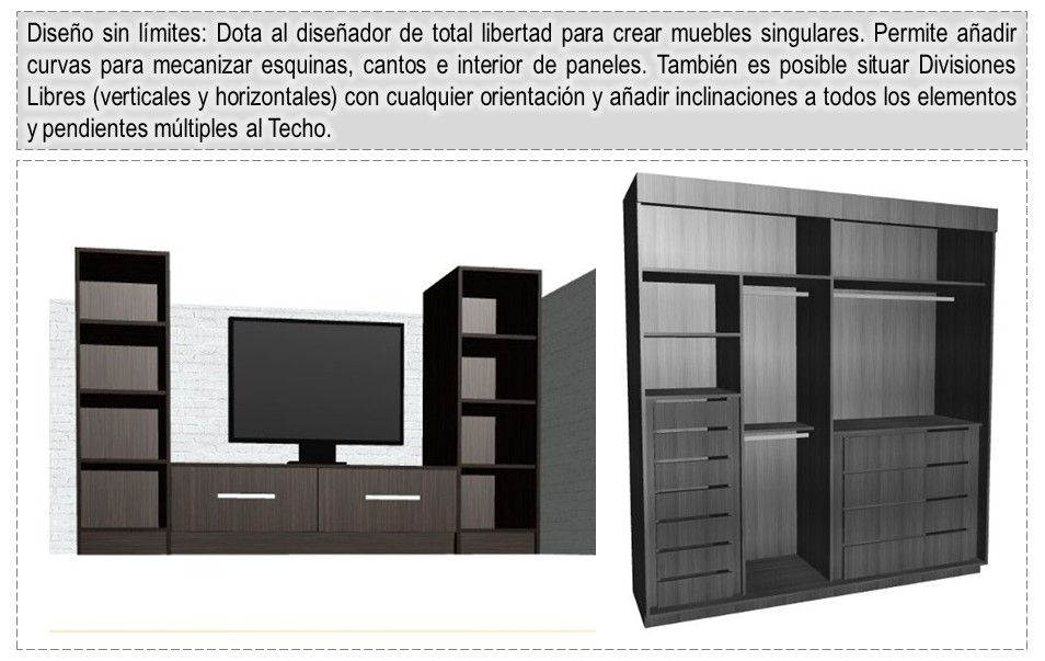 Dise o de muebles madera programa para dise ar y crear for Software para fabricar muebles de melamina
