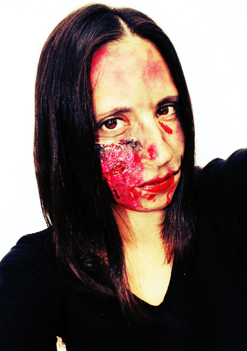 maquillaje halloween sin latex