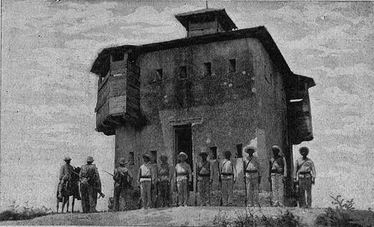 Fortín de los Hornos, en Cuba