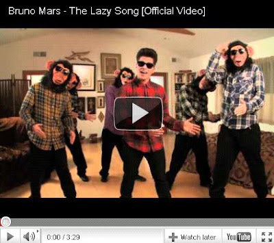 bruno mars hairstyles. Bruno Mars - Lazy Song (Music