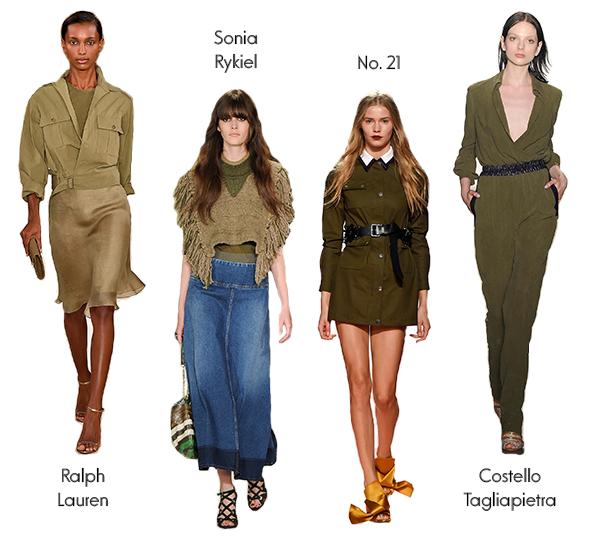 6 способов носить платье сафари   Модный шоппинг