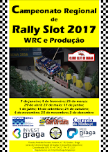 9.ª Prova do Campeonato Regional de Rally Slot 2017