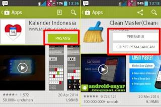 Play Store Terbaru Tombol Lebih BEsar