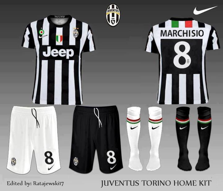 uniforme Juventus futbol