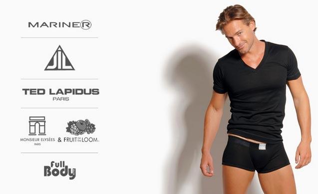 Ropa interior hombre lenceria masculina en oferta for Marca ropa interior hombre