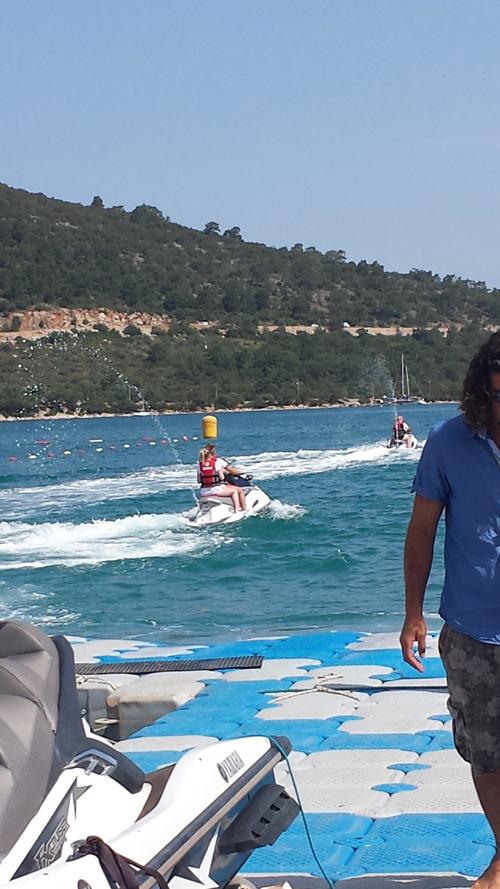 Jetski Türkei Bodrum Sonne Sommer Urlaub