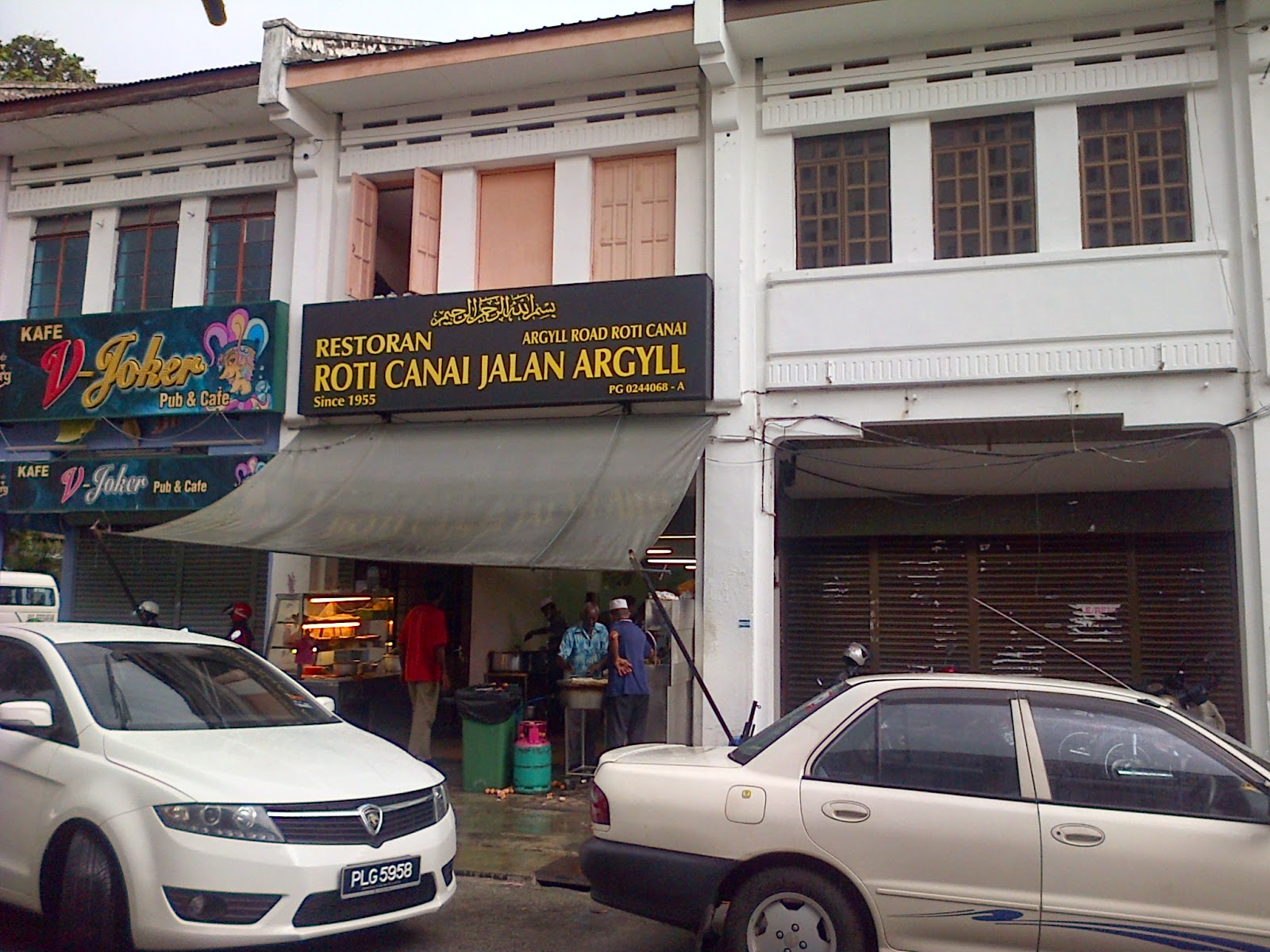 Argyll Road, Roti canai, Jalan-jalan cari makan, breakfast, Penang