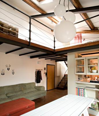 La casa in vetrina costruire un soppalco per recuperare spazio - Mobili per recuperare spazio ...