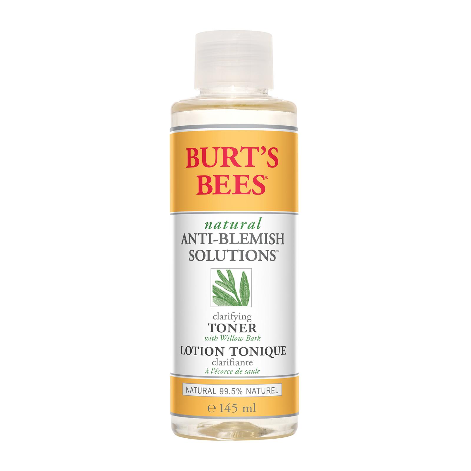 burts bees anti blemish solutions clarifying toner