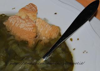 cucina toscana, zuppa, zuppa con bietola porri e patate