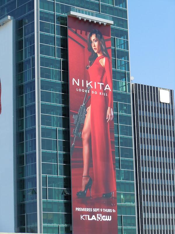 Maggie Q Nikita billboard