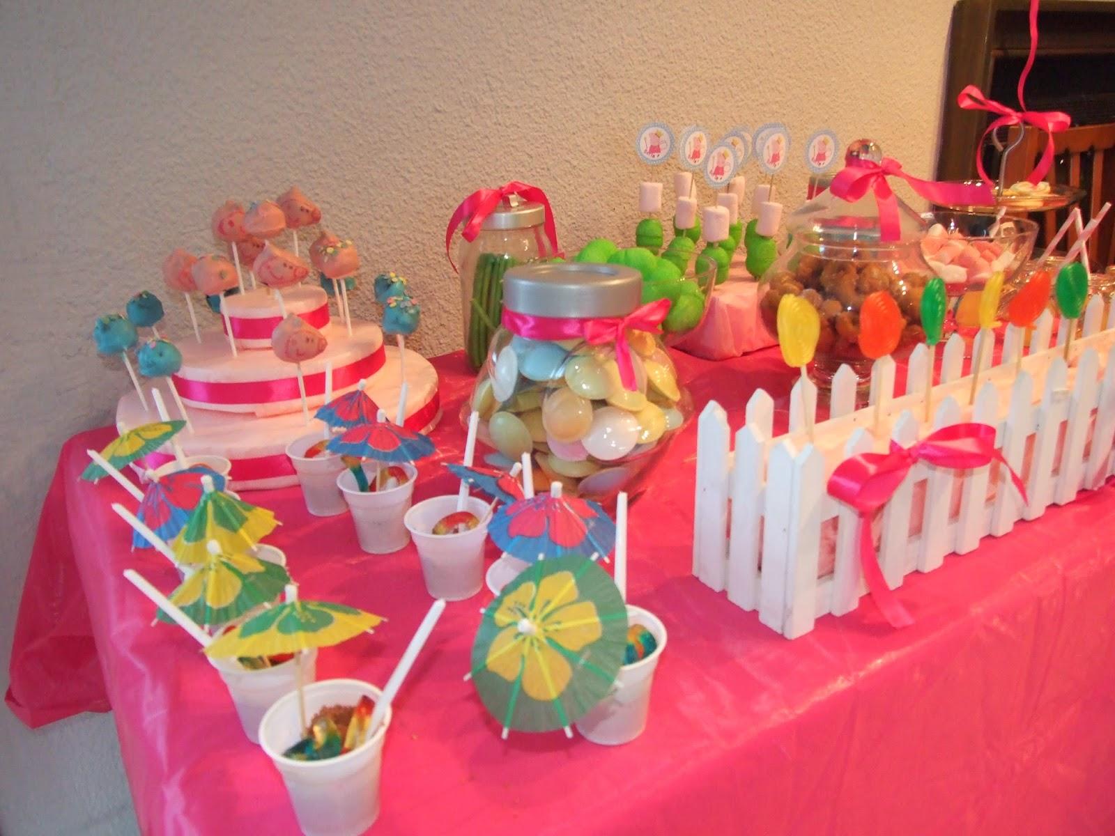 Mis cake pops y otras pasiones cumplea os de berta - Decoracion para fiestas de cumpleanos infantiles ...