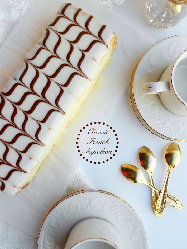 French mille feuille cake recipe