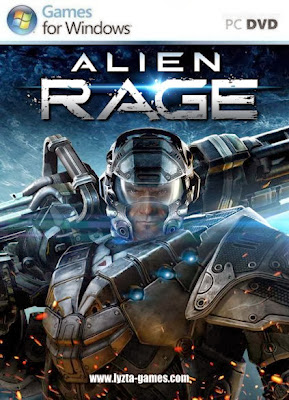 Alien Rage PC Cover