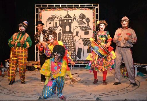 Companhias pernambucanas na estrada Trupe Circus, Galpão das Artes, Cia. 2 em Cena e Fiandeiros em turnê