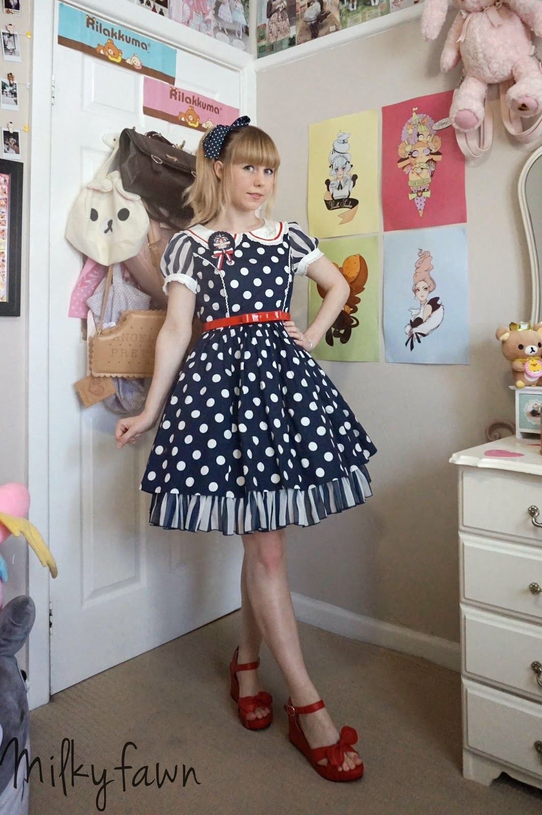 lolitas heaven Super casual <b>lolita</b> coordinate for a hot day out for lunch with friends.