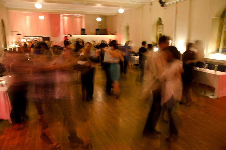 "Paradiso""for the love of tango""<br>a Friday evening traditional milonga in its 15th year"