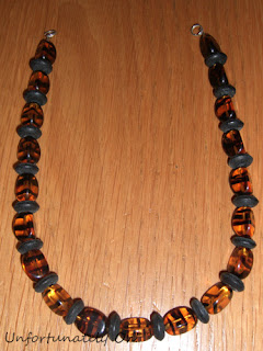 bead and ribbon necklace