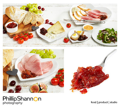 Food Photographer. Studio images of food for new product website