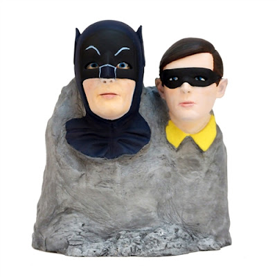 San Diego Comic-Con 2015 Exclusive Batman '66 Dynamic Duo Color Monolith Statue by Factory Entertainment