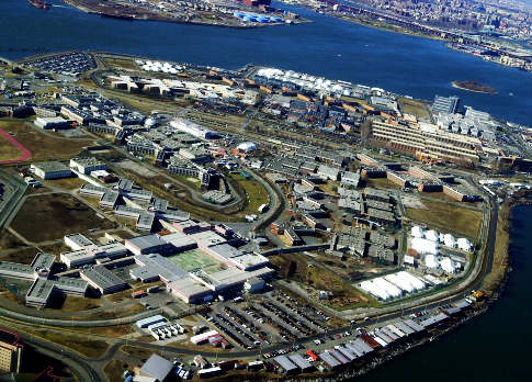 Rikers island prison barge