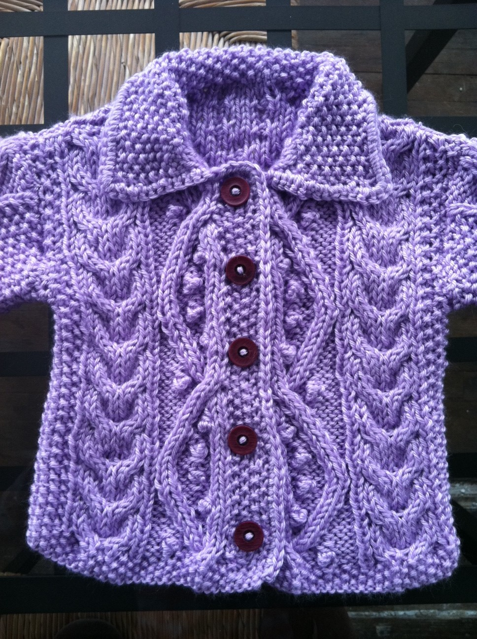 Tips For Knitting Quickly : All things delightful baby sweater plus vintage knitting tips