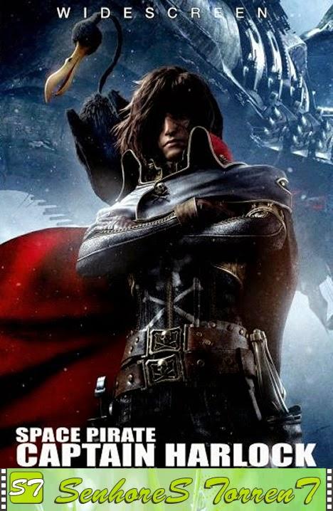 Capitão Harlock – Pirata do Espaço TorrenT BDRip XviD Dual Audio