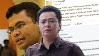 Pegawai Khas Rosmah ajak Akmal minum petang