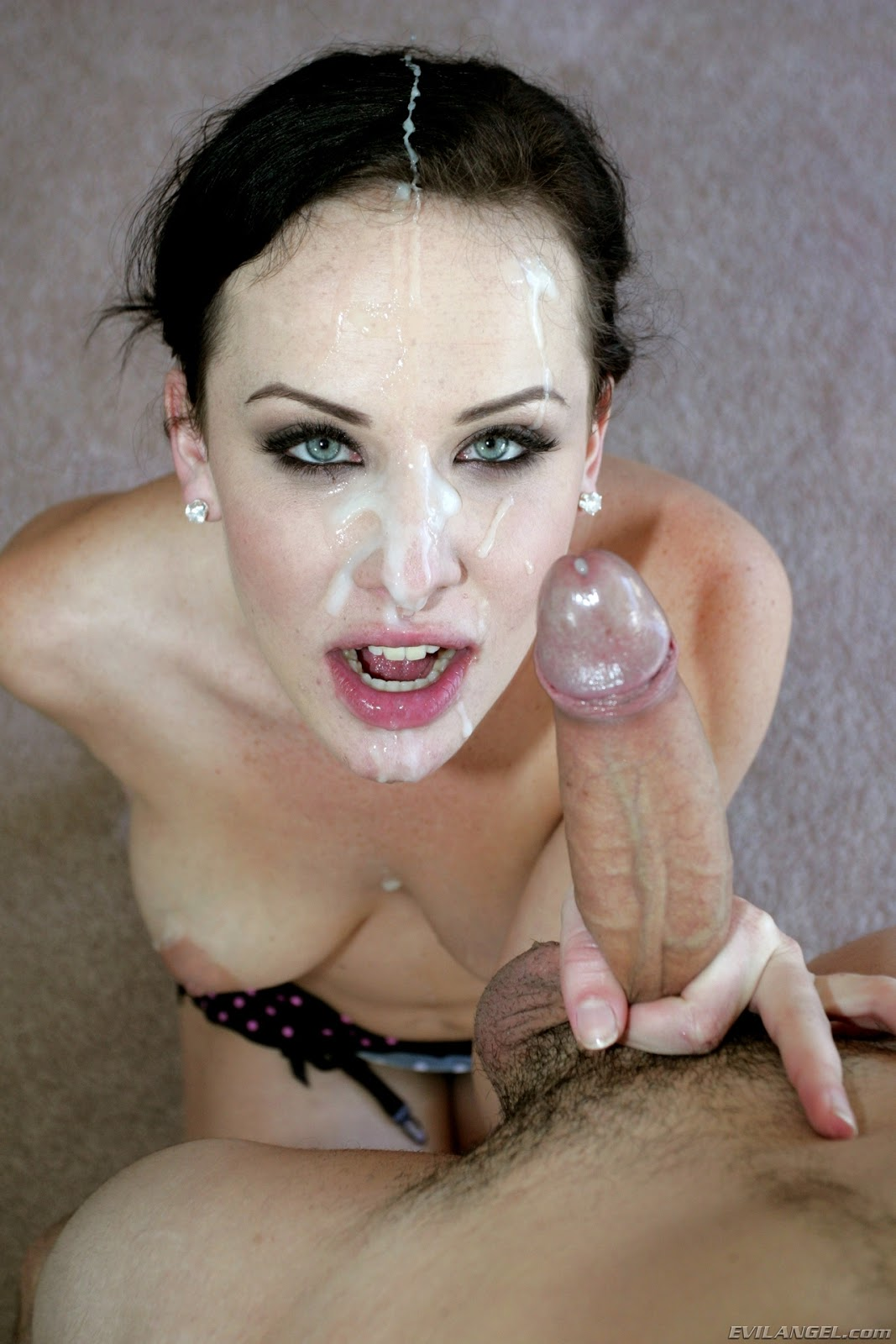 Lisa ann sloppy blowjob