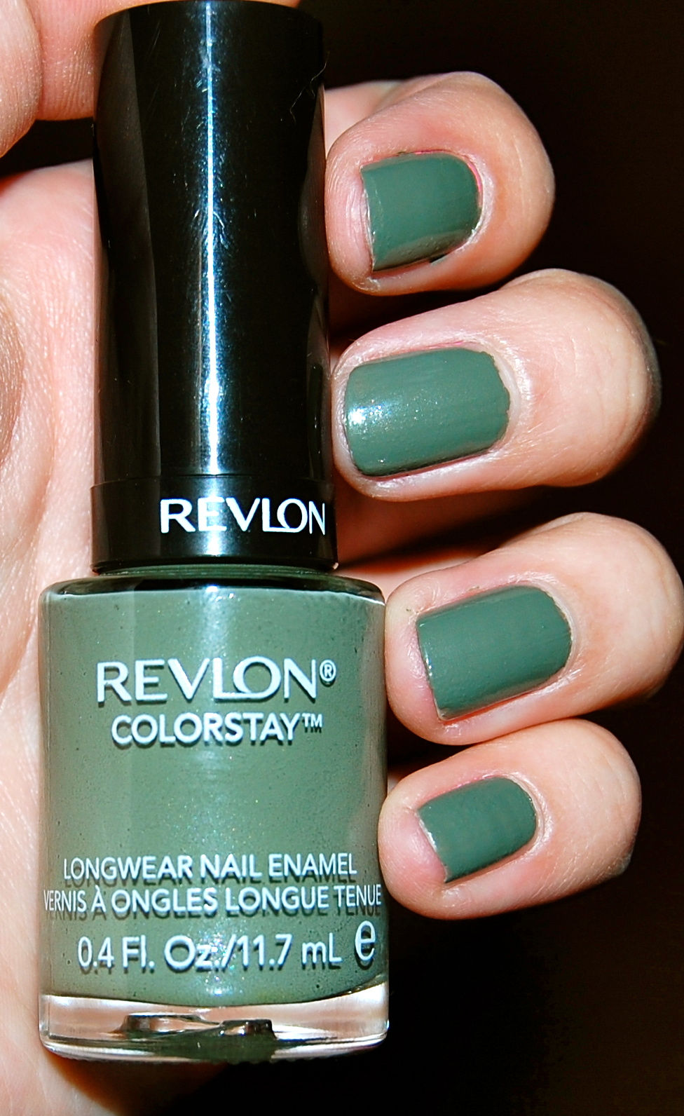 Buzzed About Beauty: Nail of the Day: Revlon Colorstay in Spanish Moss!