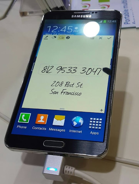 Handphone Samsung Galaxy Note 3