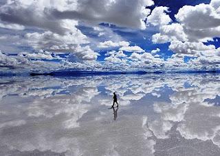 Salt Felt in Bolivia
