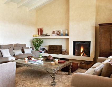 Decandyou ideas de decoraci n y mobiliario para el hogar - Decorar salones con chimenea ...