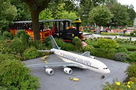 Airplane  of Legoland billund location Denmark
