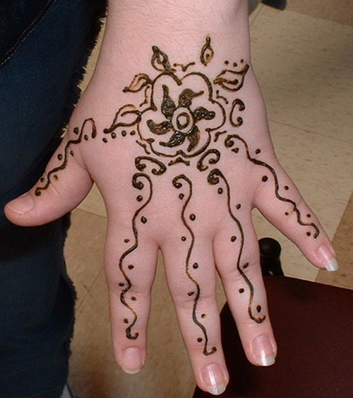 Mehndi Designs Easy Mehndi Designs For Kids