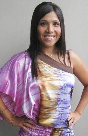 Tula Rodríguez sonriendo