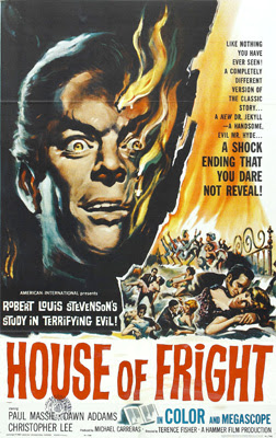 Poster for The Two Faces of Dr. Jekyll (aka House of Fright), 1960