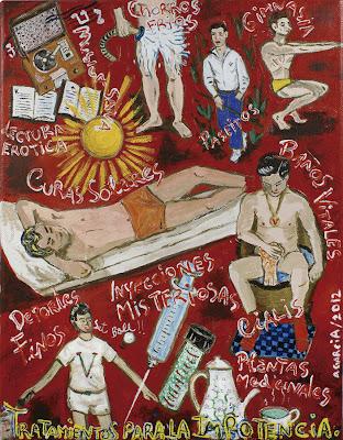 Tratamientos para la impotencia, Agustí Garcia, Bad Painting, Dr.Vander, Glory Hole, Pinturas, Agustí Garcia Monfort