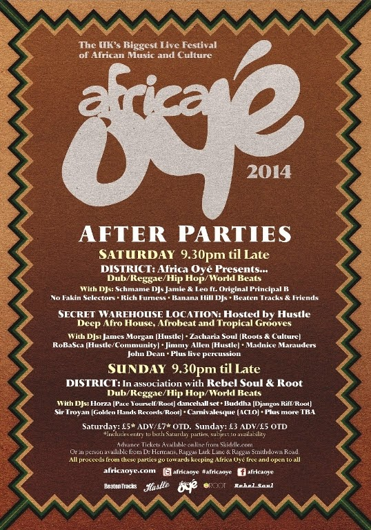 Africa Oye festival 2014 After Party
