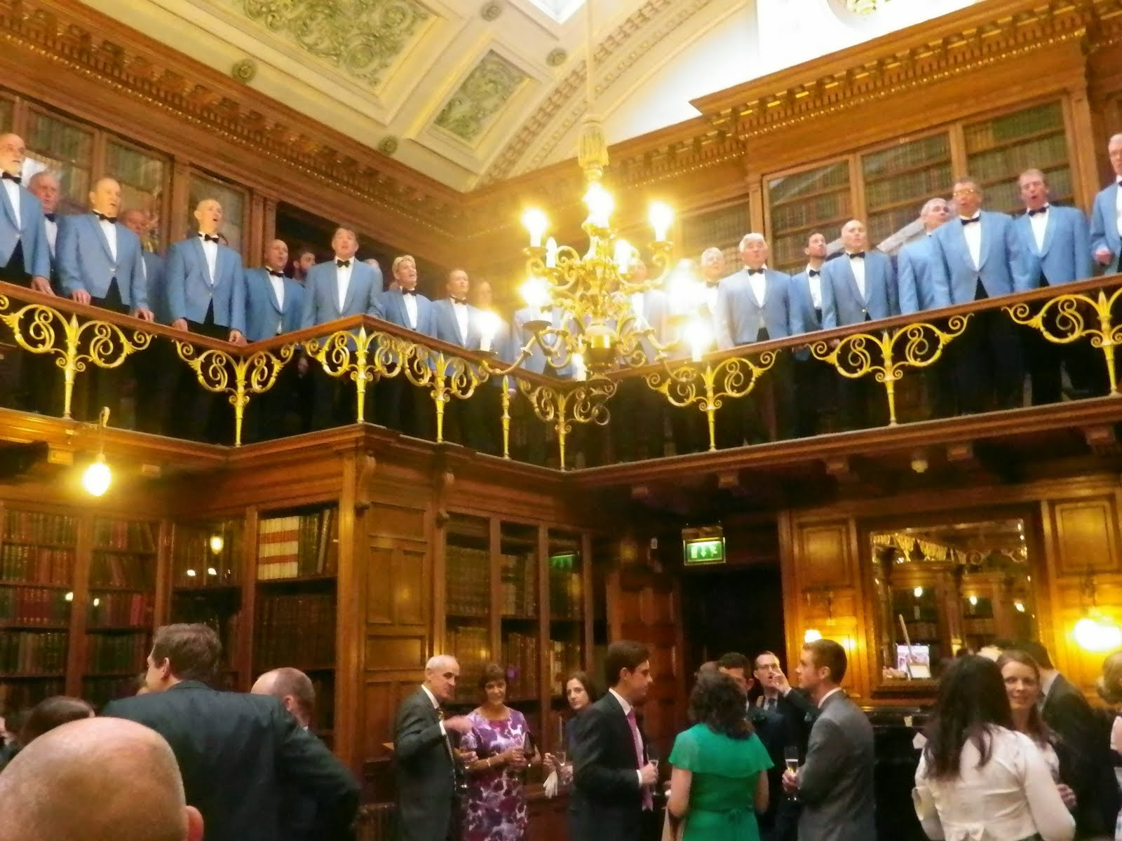 The Chorus at the Royal College of Physicians, Edinburgh