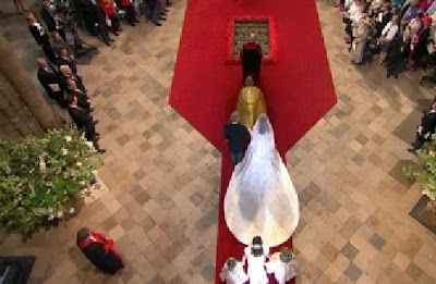 el vestido de la novia del principe william guillermo