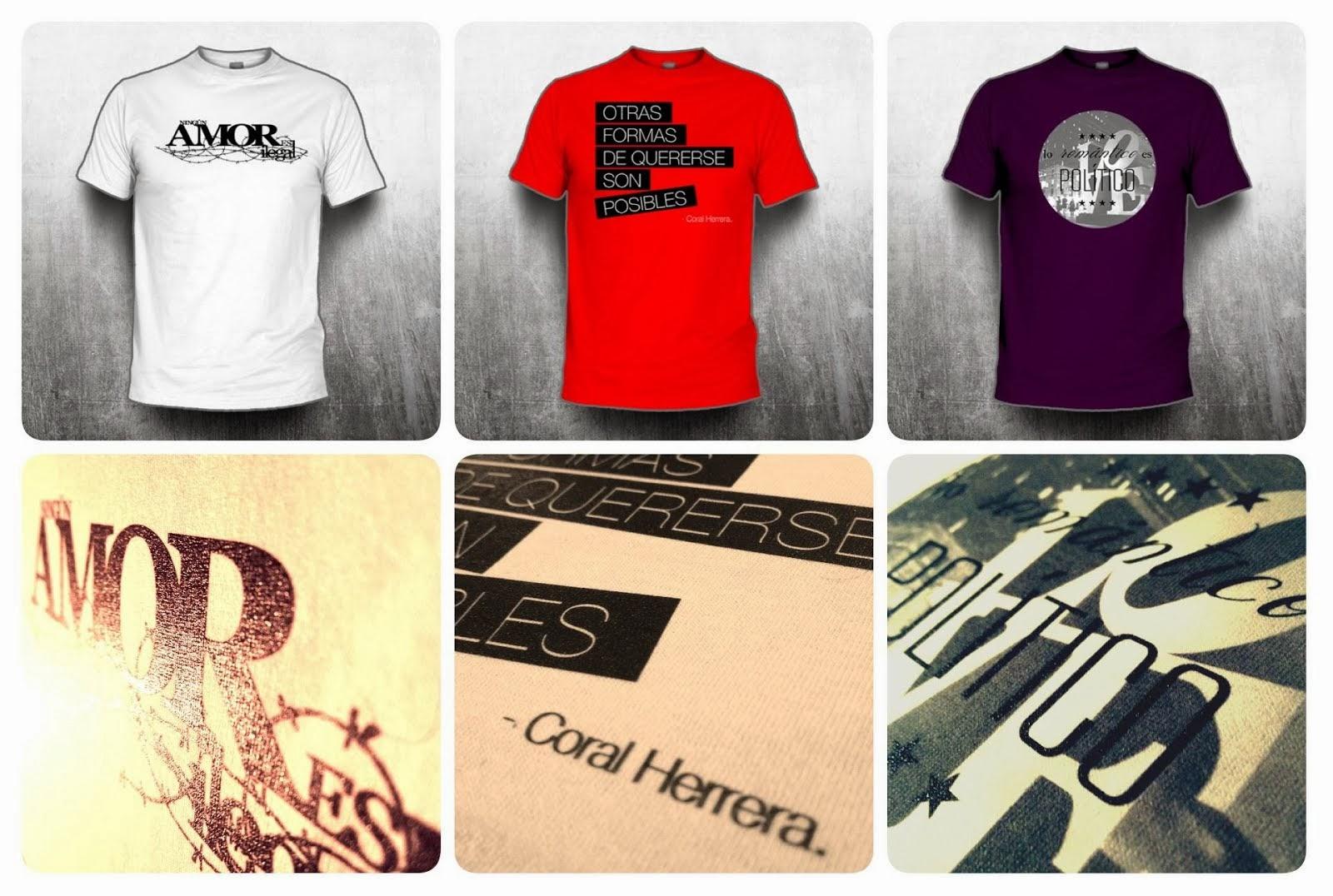 Camisetas Coral Herrera Gómez