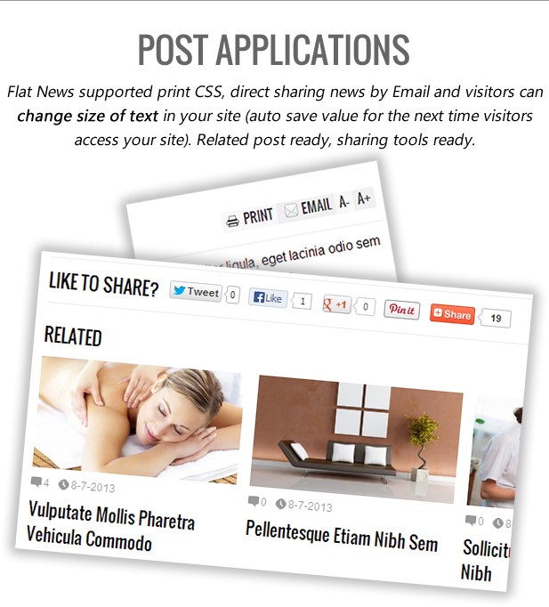 flat news blogger themeforest template free download