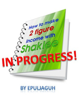 how to make 2 figure income with Shaklee epul jaguh