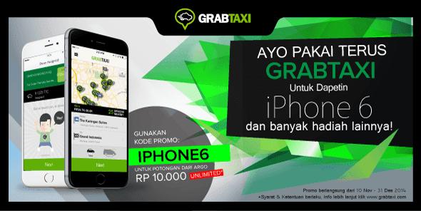 GrabTaxi Taxi Booking Promo