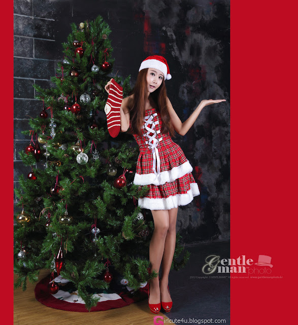 3 Santa Park Hyun Sun-Very cute asian girl - girlcute4u.blogspot.com