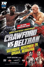 Who wins the lightweight championship fight in Omaha between Terence Crawford & Ray Beltran?