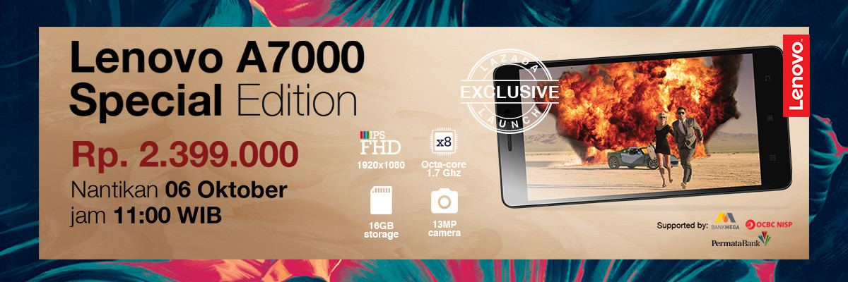 Flash Sale Lenovo A7000 Special Edition Lazada
