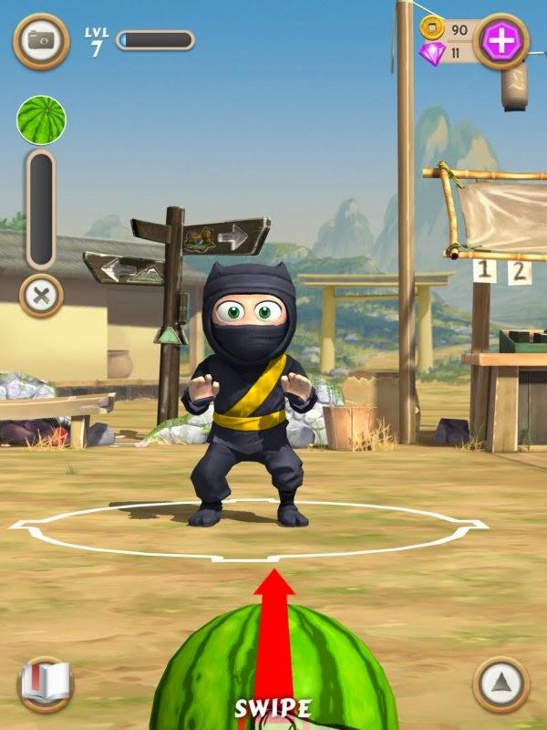 Clumsy Ninja Full Apk resimi 2