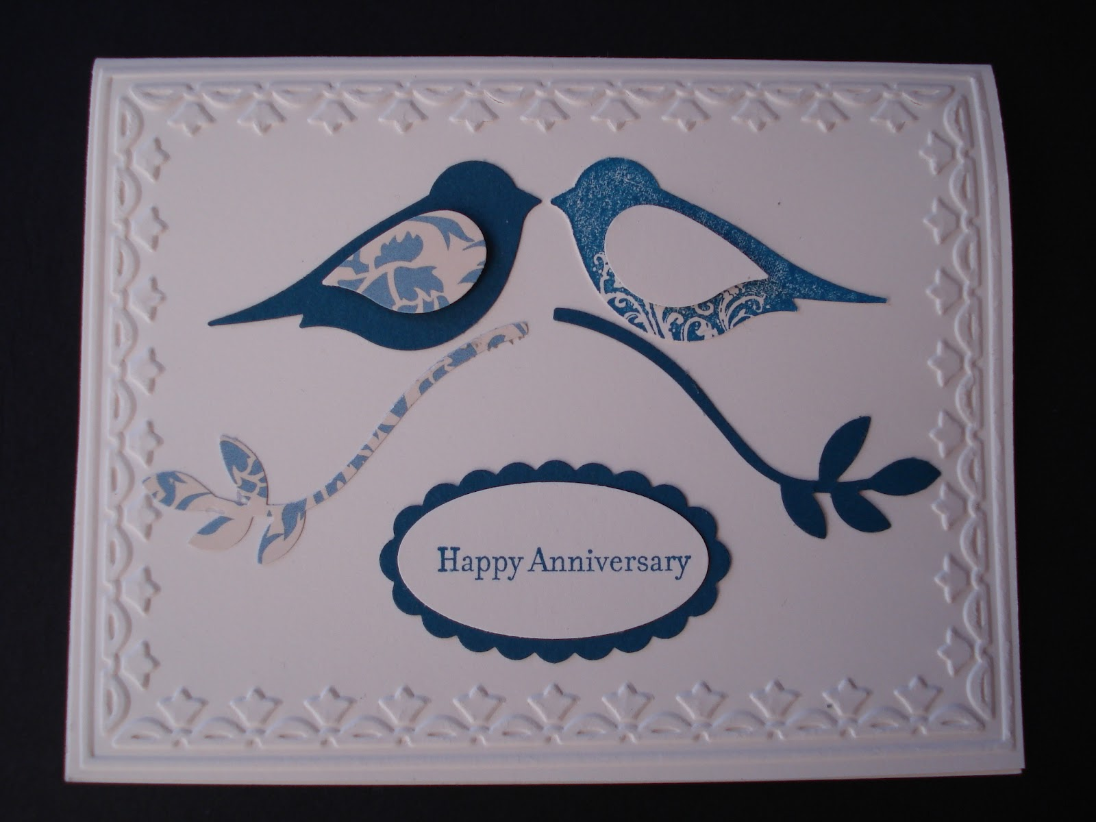 ... And Me For Our 40th Wedding Anniversary Last Month. We Also Received  Lots Of Beautiful Cards Bought In Shops, And They Too Will Be Kept And  Treasured.